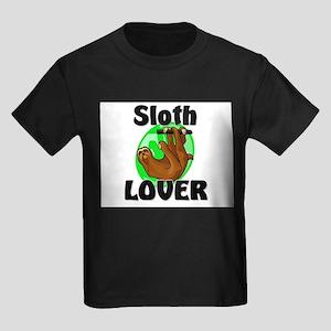 Sloth Lover Kids Dark T-Shirt