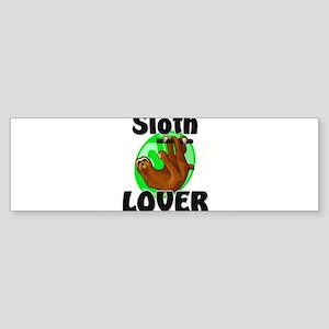 Sloth Lover Bumper Sticker