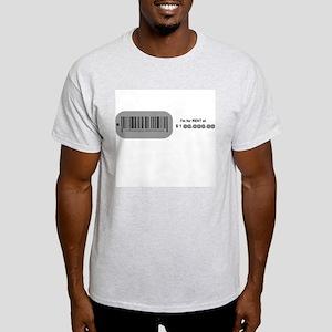 for rent at $1@@,@@@.@@ Ash Grey T-Shirt