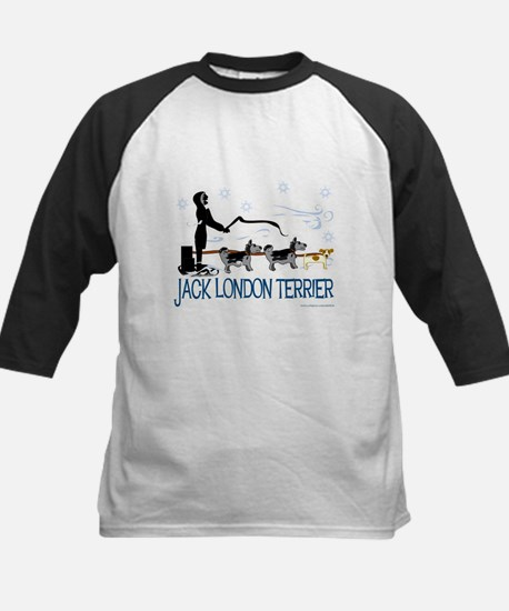 Jack London Terrier Kids Baseball Jersey