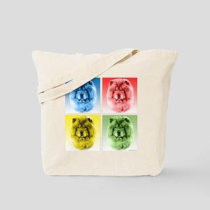 Chow Chow Pop Art Tote Bag