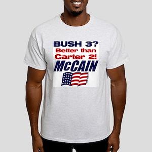 Bush 3 vs Carter 2 Light T-Shirt