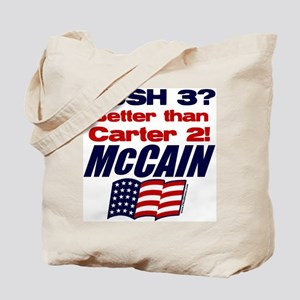 Bush 3 vs Carter 2 Tote Bag