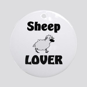 Sheep Lover Ornament (Round)