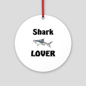 Shark Lover Ornament (Round)