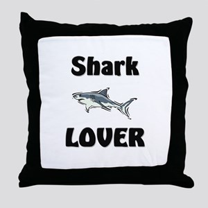 Shark Lover Throw Pillow