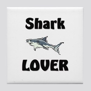 Shark Lover Tile Coaster