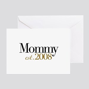 New Mommy 2008 Greeting Card