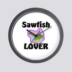 Sawfish Lover Wall Clock