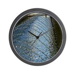 Multiple Springs Fountain Wall Clock
