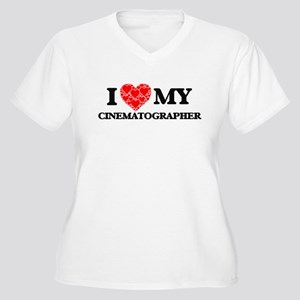 I Love my Cinematographer Plus Size T-Shirt