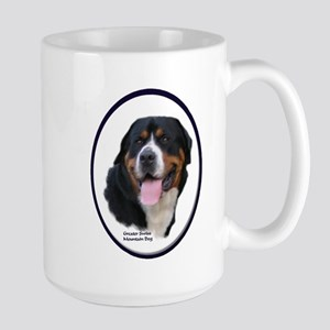Greater Swiss Mtn Dog Large Mug