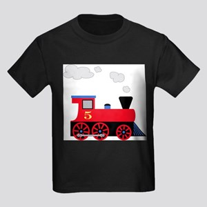 Red Train number 5 T-Shirt