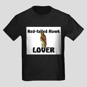 Red-Tailed Hawk Lover Kids Dark T-Shirt