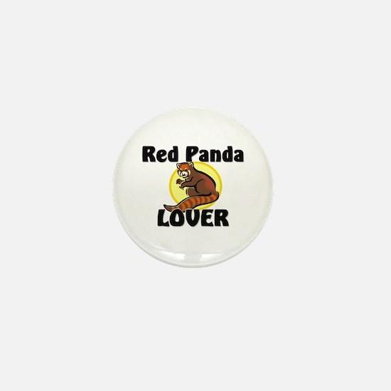 Red Panda Lover Mini Button