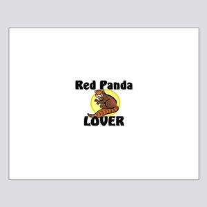 Red Panda Lover Small Poster