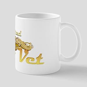 retired sub vet Gold Mug