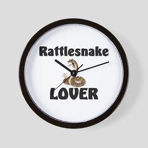 Rattlesnake Lover Wall Clock