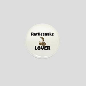 Rattlesnake Lover Mini Button