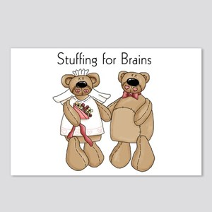Stuffing for Brains Postcards (Package of 8)
