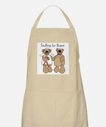 Stuffing for Brains BBQ Apron