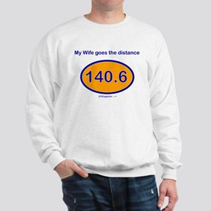 140.6 Distance Wife Sweatshirt