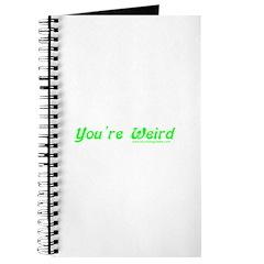 You're Wierd Journal