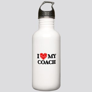 I Love my Coach Stainless Water Bottle 1.0L