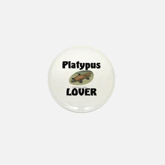 Platypus Lover Mini Button