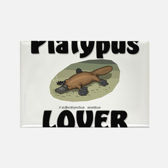 Platypus Lover Rectangle Magnet