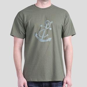 Nautical Anchor Dark T-Shirt
