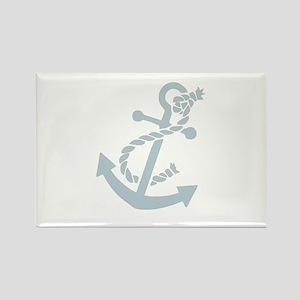 Nautical Anchor Rectangle Magnet