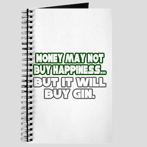 """Money, Happiness, Gin"" Journal"
