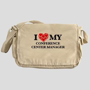 I Love my Conference Center Manager Messenger Bag