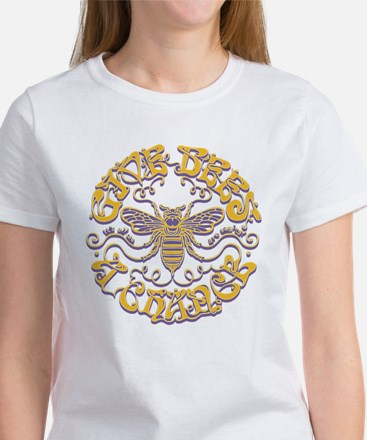 Give Bees a Chance Women's Classic White T-Shirt