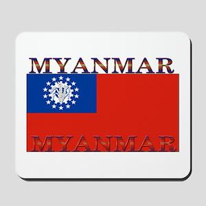 Myanmar Mousepad