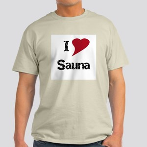 I Love Sauna Light T-Shirt