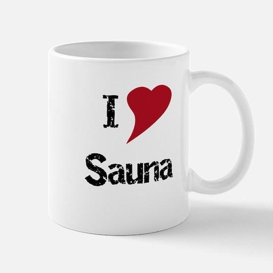 I Love Sauna Mug