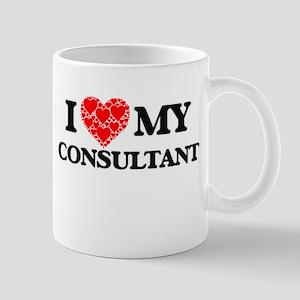 I Love my Consultant Mugs