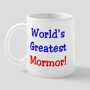 World's Greatest Mormor Mug