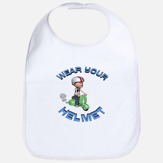 Wear Your Helmet Bib