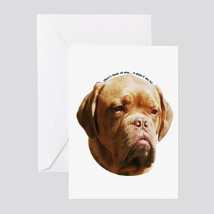 Dogue De Bordeaux Greeting Cards (Pk of 10)