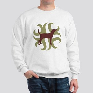 Coonhound Tribal Sweatshirt