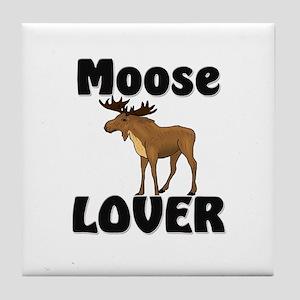 Moose Lover Tile Coaster