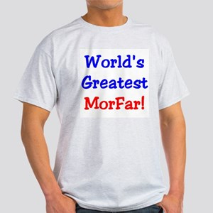 World's Greatest Morfar Ash Grey T-Shirt