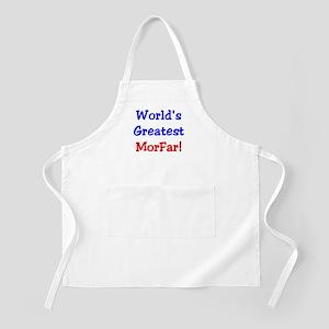 World's Greatest Morfar BBQ Apron