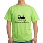 Phineas Gage Explosives Green T-Shirt