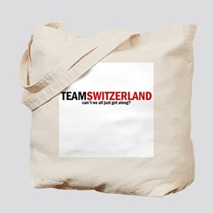 Team Switzerland Tote Bag
