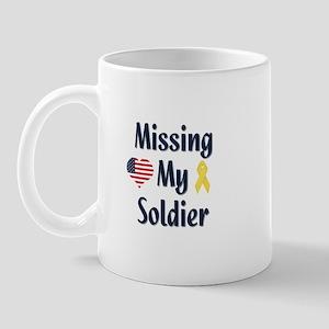 Missing My Soldier Mug