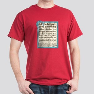 Farrier's Lament Dark T-Shirt